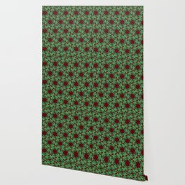 Holiday Wreathes of Ivy Wallpaper