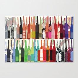 Lisa Wine Canvas Print