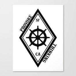 Provoke Thinking Logo Canvas Print