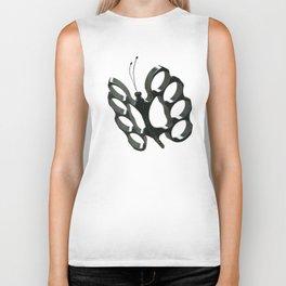 Fly like a butterfly, sting like a bee Biker Tank
