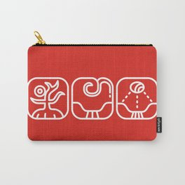 Mayan Glyphs ~ Nature Carry-All Pouch