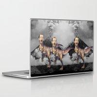 trex Laptop & iPad Skins featuring Bill Murray TRex by Kalynn Burke