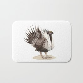 Greater Sage-Grouse Bath Mat