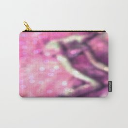 The Dancer by Edgar Degas Pink Bokeh Sparkle Carry-All Pouch