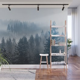 Pacific Northwest Forest Adventure II - Nature Photography Wall Mural