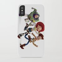 toy story iPhone & iPod Cases featuring Toy Story by Max Jones
