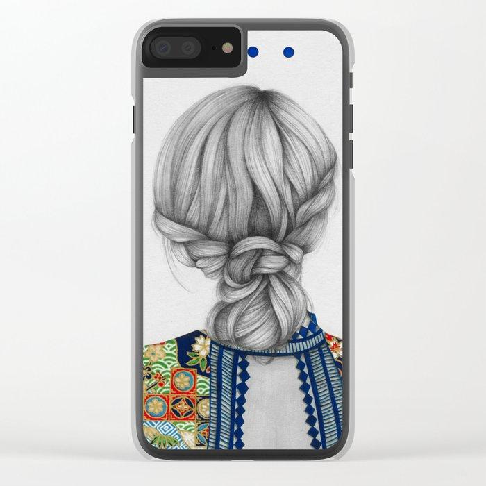 Strands II Clear iPhone Case