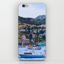 """Catalina Harbor""/ ""Time"" iPhone Skin"