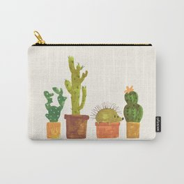 Hedgehog and Cactus (incognito) Carry-All Pouch