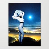 celestial Canvas Prints featuring Celestial by Danielle Tanimura