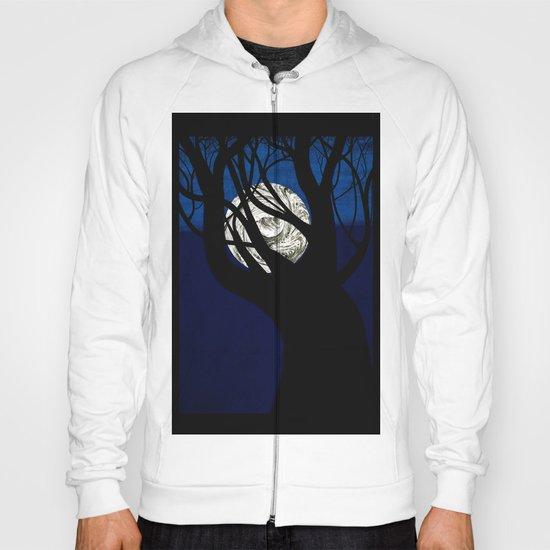 Moon Visits Tree Hoody