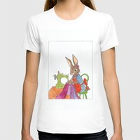 sewing T-shirts featuring sewing rabbit by emmeke