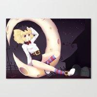 eugenia loli Canvas Prints featuring Loli Ruri by Kunogi