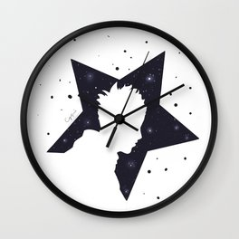Star Man (Silhouette) Wall Clock