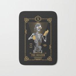 The Reader X Tarot Card Bath Mat