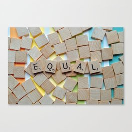 Equal (LGBTQ) Canvas Print