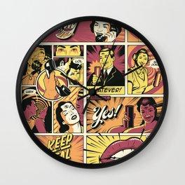 Surreal Communication Wall Clock