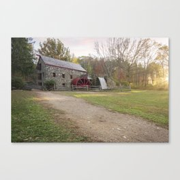 Wayside Inn Mill Canvas Print