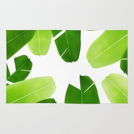 Banana leafs pattern iPhone 4 4s 5 5c 6 7, pillow case, mugs and tshirt Rug