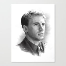 Steve Rogers  Canvas Print