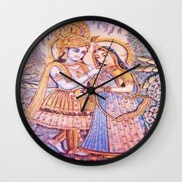 Hare Krishna Love Wall Clock