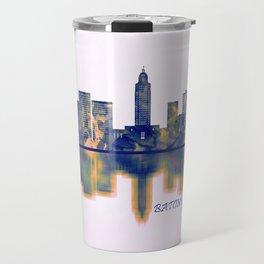 Baton Rouge Skyline Travel Mug