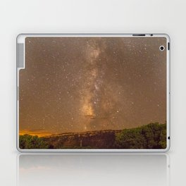 Milky Way Mesa Verde Colorado, United States Laptop & iPad Skin