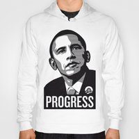 obama Hoodies featuring Obama by loveme