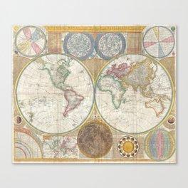 Terroqueous Globe Canvas Print