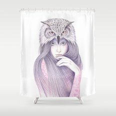 The Wisdom Shower Curtain
