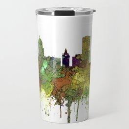 Buffalo, New York Skyline - SG Safari Buff Travel Mug