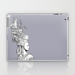 Girl With Ship Laptop & iPad Skin