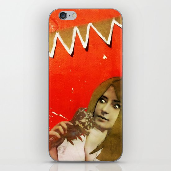 Victorian Orange iPhone & iPod Skin