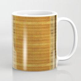 """""""Simple Oriental Curtains (Orange)"""" Coffee Mug"""