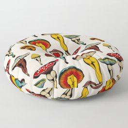 Sexy mushrooms Floor Pillow