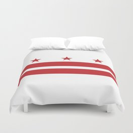 Washington, D.C. Flag Duvet Cover