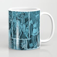 Clowns Burlesque Coffee Mug