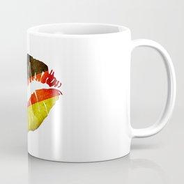 German Flag Lips Coffee Mug