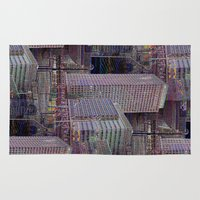 office Area & Throw Rugs featuring office Dayze by David  Gough