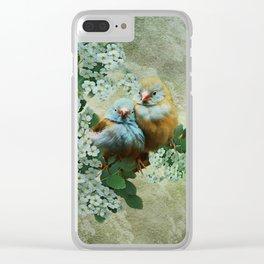 Cordon Bleu Love Clear iPhone Case
