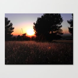Yesterday's bed Canvas Print