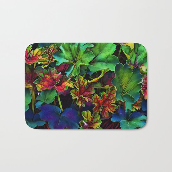 Colorful Color Bath Mat
