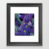 Run Kitty Run! Framed Art Print