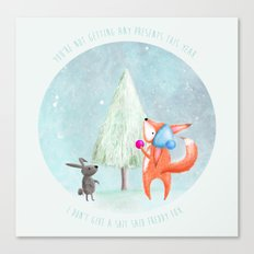 Christmas Fox 1 Canvas Print