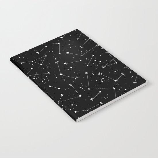 Constellations (Black) Notebook