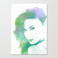 model Canvas Prints featuring Model by PRpietro_P&J WebLab