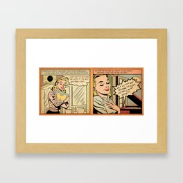 That New Wu-Tang Joint! Framed Art Print