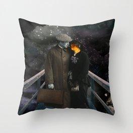 TAKE ME SOMEWHERE NICE Throw Pillow