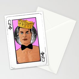 Queen of Clubs! Stationery Cards
