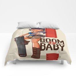 Boom Beach Fan Art - Zooka Comforters